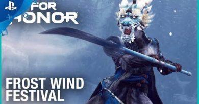 For Honor - Season 4: Frost Wind Festival Launch Trailer | PS4