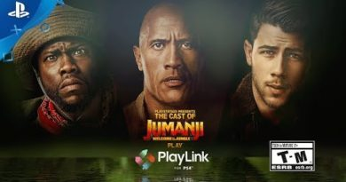 Knowledge is Power - The Jumanji Cast Plays PlayLink! Preview | PS4