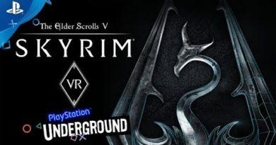 The Elder Scrolls V: Skyrim VR Gameplay | PlayStation Underground