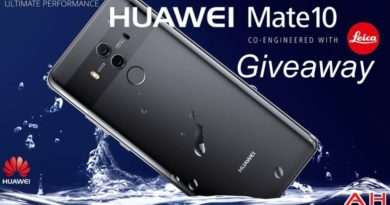 COMPETITION: Win A Huawei Mate 10 Pro