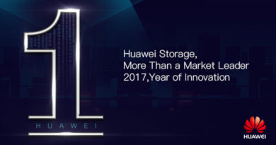 Huawei All-Flash Leads Sales Growth Worldwide with Marked Improvements in Market Presence