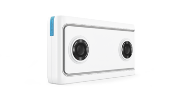 The Lenovo Mirage™ Camera with Daydream™ - allows everyone to share their own Virtual Reality