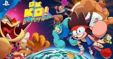 OK. K.O.! Let's Play Heroes! - Gameplay Trailer - Cartoon Network   PS4