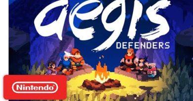 Aegis Defenders Trailer – Co-op Platforming Meets Tower Defense - Nintendo Switch