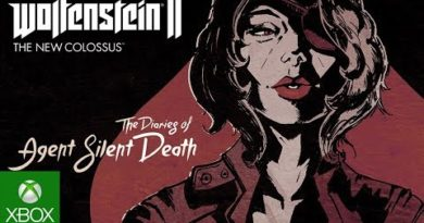 The Diaries of Agent Silent Death Available Now for Wolfenstein II