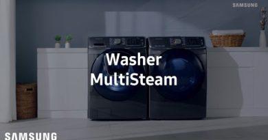Samsung Dryer : MultiSteam