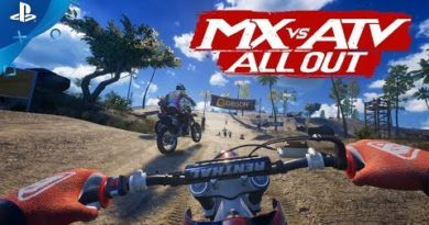 MX vs ATV All Out - Gameplay Trailer And New Information! | PS4