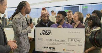 Microsoft Surface & NFL Players Create Change