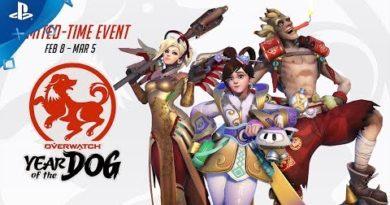 Overwatch - Seasonal Event: Lunar New Year 2018   PS4