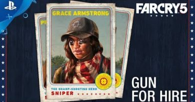 Far Cry 5 - Character Spotlight: Grace Armstrong – Gun For Hire | PS4