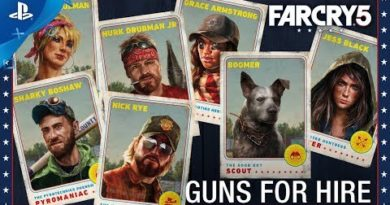 Far Cry 5 - Gun For Hire Compilation   PS4