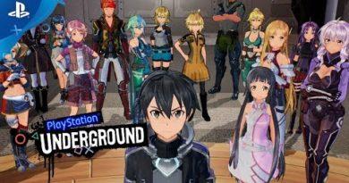 Sword Art Online: Fatal Bullet - PS4 Gameplay | PlayStation Underground