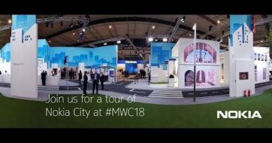 Video tour of Nokia City at Mobile World Congress 2018