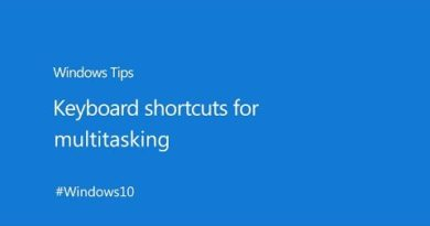 How to Use Keyboard Shortcuts in Windows 10