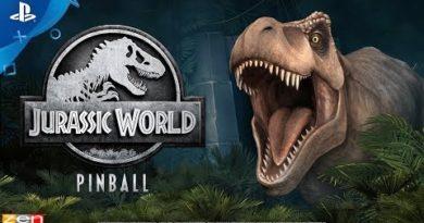 Pinball FX3 – Jurassic World Pinball - Announcement Trailer | PS4