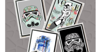COMPETITION: Win Star Wars Framed prints worth £450