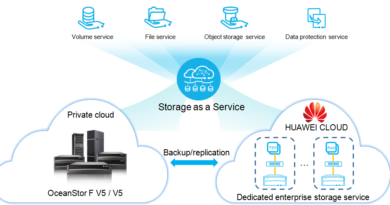 OceanStor F V5, New Storage Backbone of Huawei's Hybrid Cloud