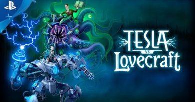 Tesla vs Lovecraft - Launch Trailer   PS4