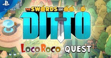 The Swords of Ditto – LocoRoco Quest   PS4
