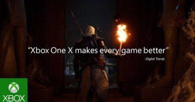 Feel true power with 100+ Xbox One X Enhanced games :10
