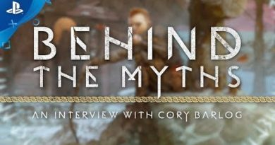 God of War - Behind the Myths: An Interview with Cory Barlog   PS4