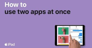 iPad — How to use two apps at once — Apple