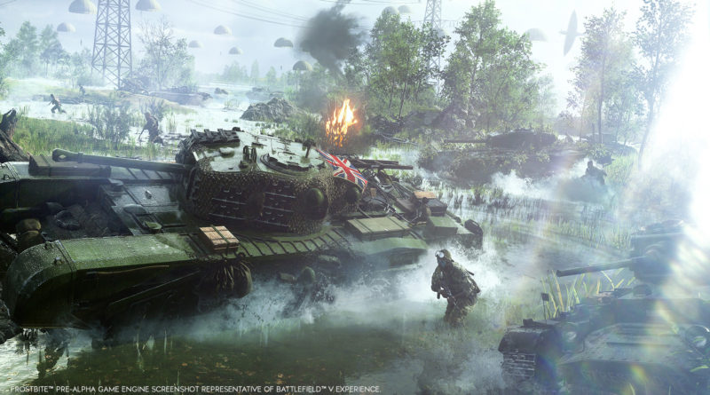 How Battlefield V Will Depict WWII as You Have Never Seen It Before