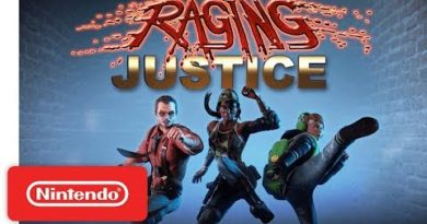 Raging Justice Launch Trailer - Nintendo Switch