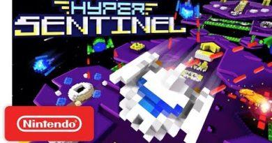 Hyper Sentinel Launch Trailer - Nintendo Switch