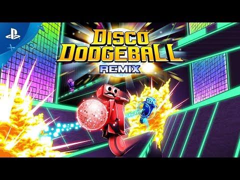 Disco Dodgeball Remix – Launch Trailer | PS4