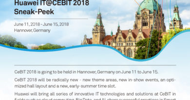 Huawei IT@CEBIT 2018 Sneak-Peak