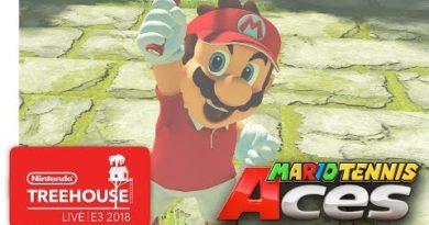 Mario Tennis Aces Gameplay Pt. 1 - Nintendo Treehouse: Live | E3 2018