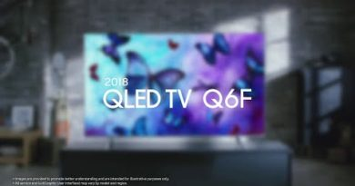Samsung QLED TV : 2018 Q6F 4K UHD HDR TV