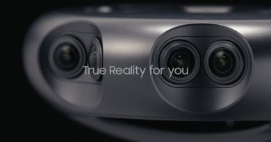 Samsung 360 Round: A professional camera for creating and livestreaming 4K 3D content. (Cutdown)
