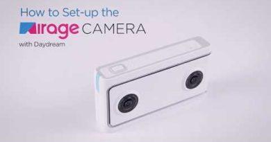 How to Set Up Lenovo Mirage Camera