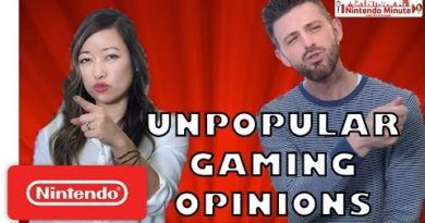 Our Unpopular Gaming Opinions - Nintendo Minute
