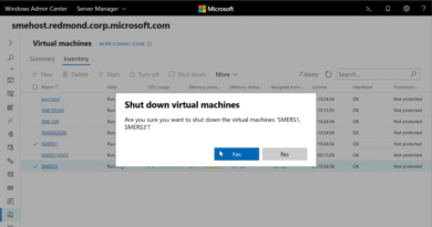 Announcing Windows Admin Center Preview 1807