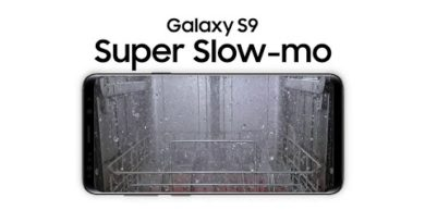 Samsung WaterWall™ captured with Galaxy S9's Super Slow-mo
