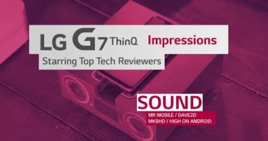 LG G7 ThinQ: Highlights from Top Tech Reviewers (Sound)