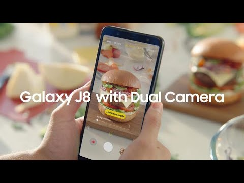 Samsung Galaxy J8: Focus on what matters