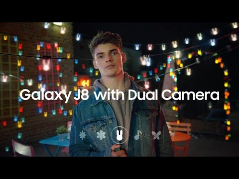 Samsung Galaxy J8: Add sparkle to your photo