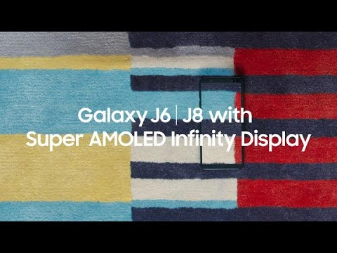 Samsung Galaxy J6 and J8: Discover true to life color