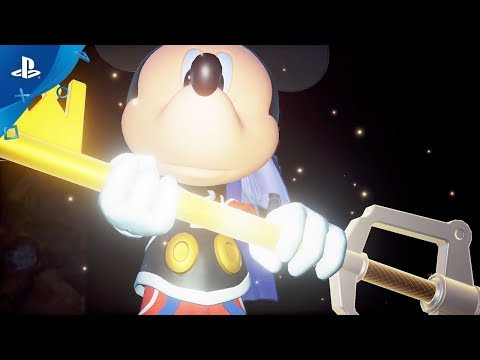 Kingdom Hearts III - Celebrating 90 Years of Mickey Mouse Trailer   PS4