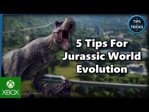 Tips and Tricks - 5 Tips for Jurassic World Evolution