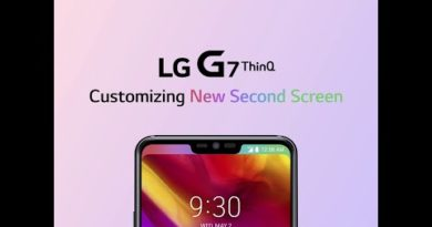LG G7 ThinQ: Additional Tutorial (New Second Screen)