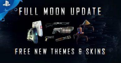 Prey: Mooncrash - Full Moon Update Trailer   PS4