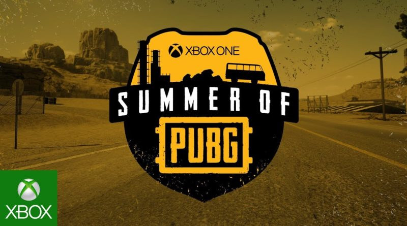 Welcome to the Xbox One Summer of PUBG
