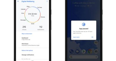 Try out Digital Wellbeing to find your own balance with Pixel