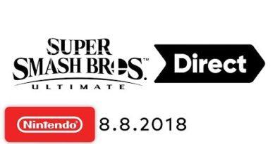 Super Smash Bros. Ultimate Direct 8.8.2018