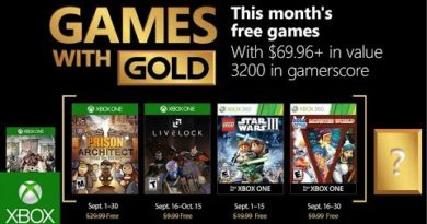 Xbox - September 2018 Games with Gold